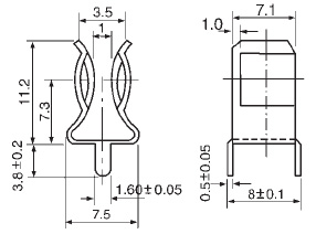 PCB Fuse Clip For Fuse 6.3×30mm manufacturer & supplier