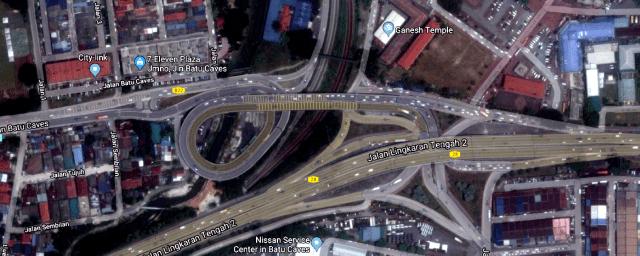 Road-to-Batu-Caves-Driving