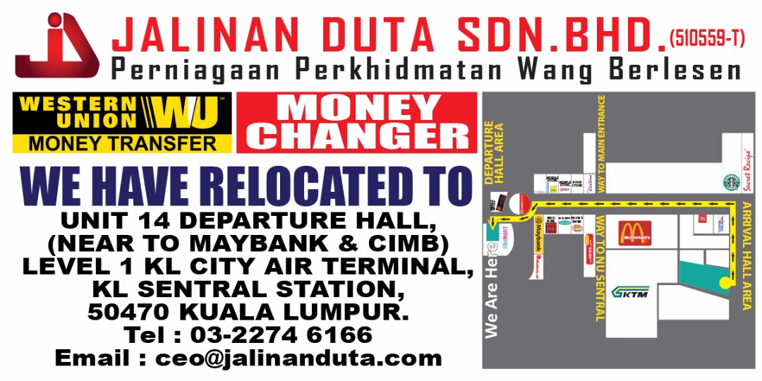 jalinan-duta-money-changer-kl-sentral-branch-relocation