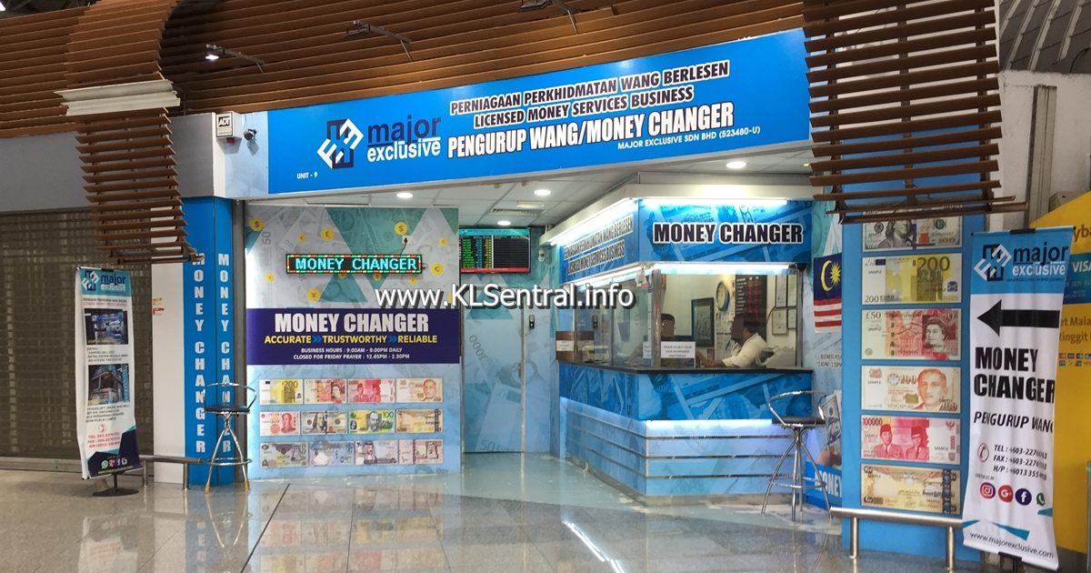 major-exclusive-money-changer-kl-sentral