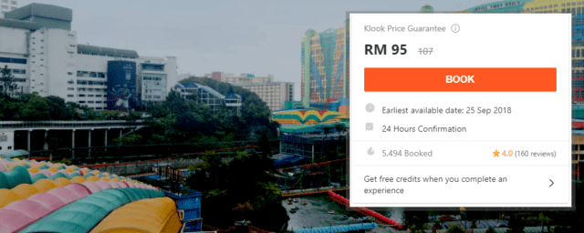 Genting Highlands tour booking