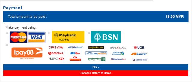 KTMB ETS Ticket Online Payment Method