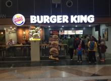 Burger King fast food restaurant KL Sentral