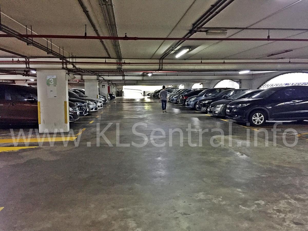 KL Sentral Parking Level 3