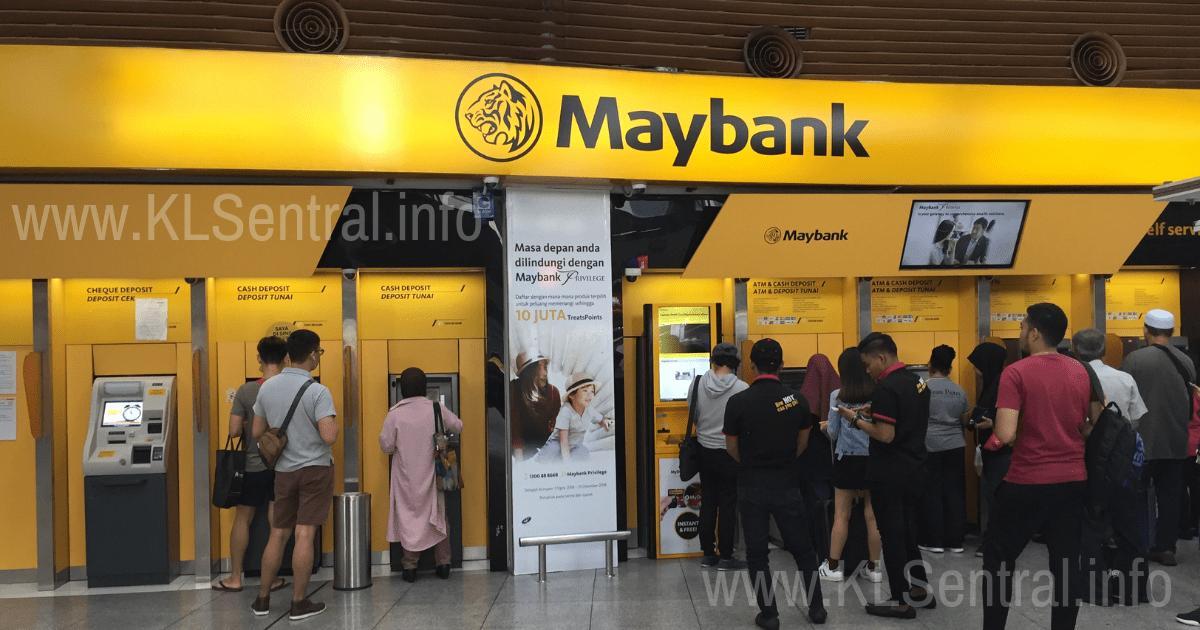Maybank KL Sentral ATM Money Changer