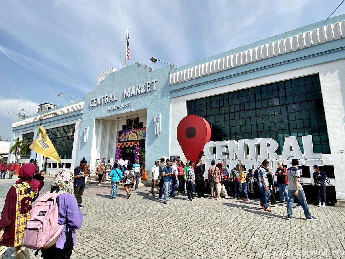 Central Market Kuala Lumpur Malaysia