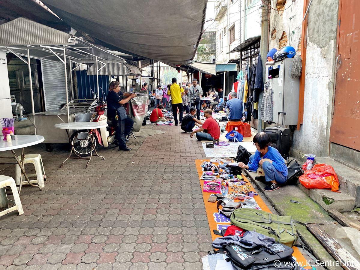Used items sold at Petaling Street Kuala Lumpur