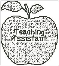 Teaching Assistant In Words