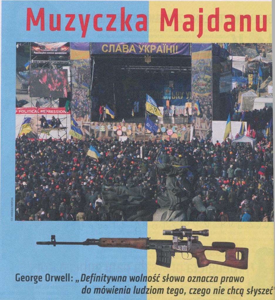 Ukraina  Muzyczka majdanu.