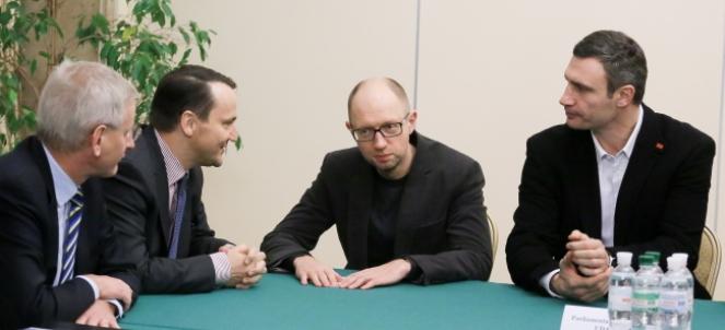 UKRAINA KIJÓW MINISTER SIKORSKI SZCZYT OBWE