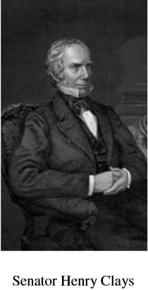 Senator Henry Clays