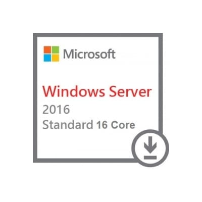 Microsoft Windows Server 2016 Standard 64bit 16 Core
