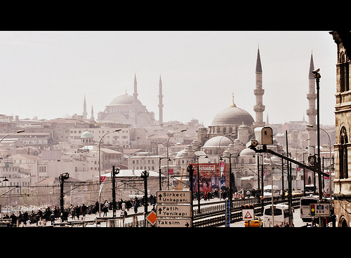 Istanbul. Cinemascope.