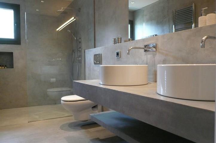 Cemento pulido Madrid  Pavimento para suelo bao paredes piscinas