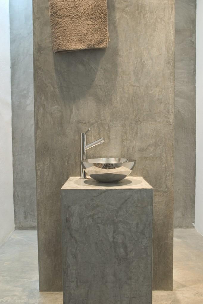 Cemento pulido Madrid  Pavimento para suelo bao
