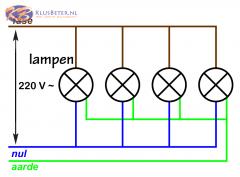 Elektrische schakelingen in huis  KlusBeternl