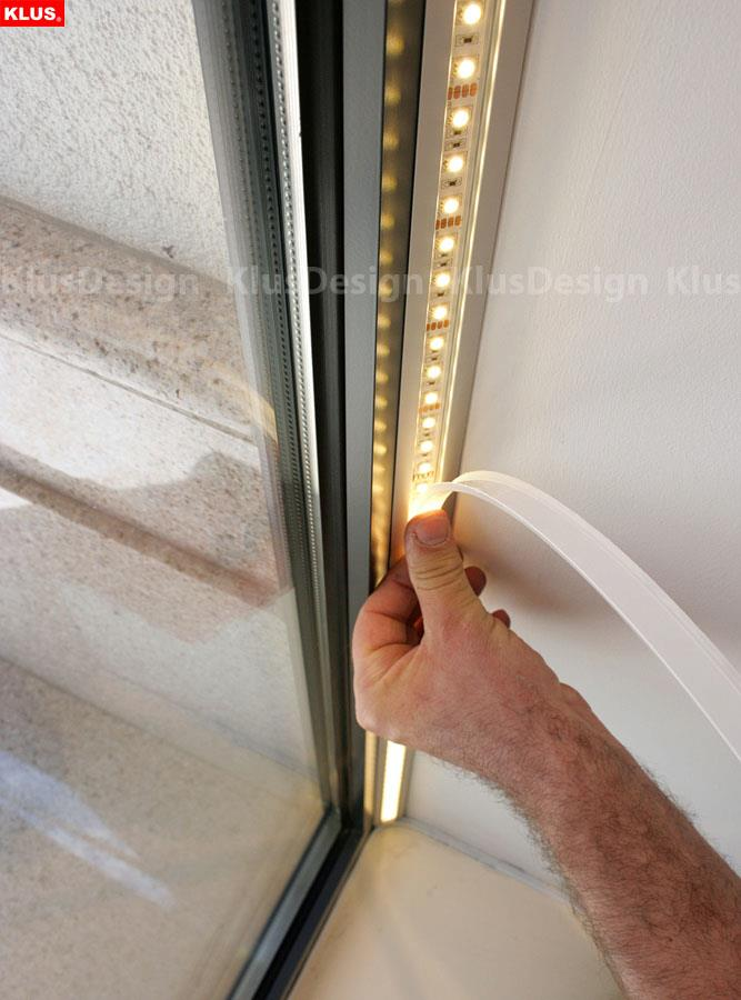 Home Wiring Closet Led Stair Lights Klus Design