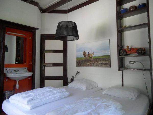 Slaapkamer op noordwest