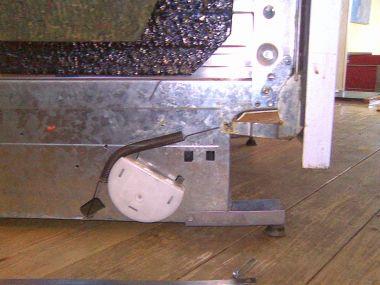 Veer gebroken vaatwasser metalen strip