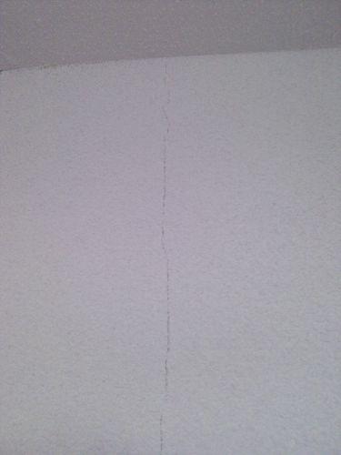 Scheur muur spachtelputz