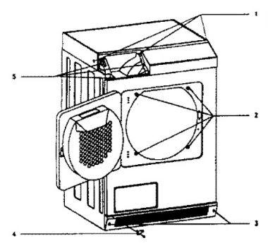 Vervangen thermostaat miele T4223C wasdroger