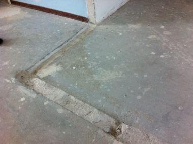 Muur en vloer opvullen