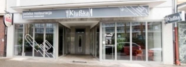 Restauracja Klußka z zewnątrz