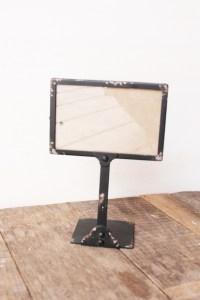 Black Frame Table Number Holders - KLW Design