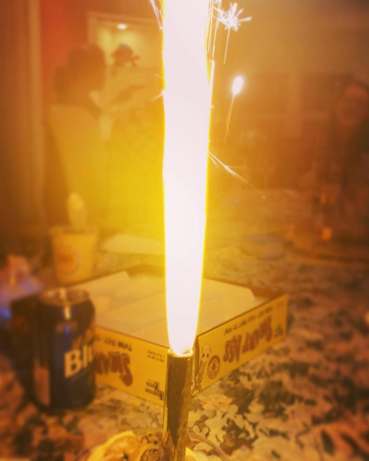 Birthday Candle: Modest