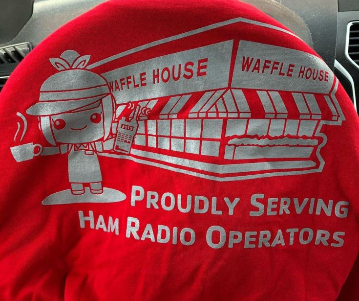 Love me some Waffle House. Good t-shirt for Field day.