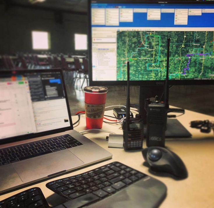 MS150 Buckeye Breakaway, Net Control Day 2 -
