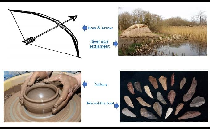 mesolithic period & tools