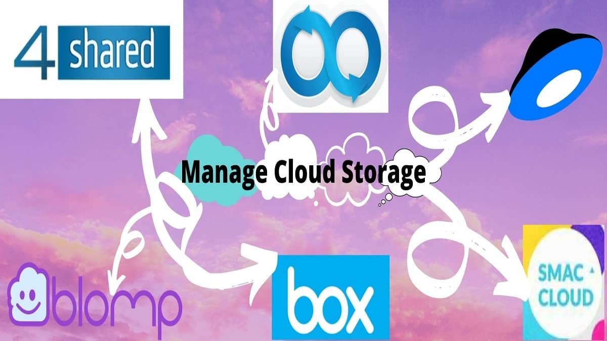 Manage cloud storage for free