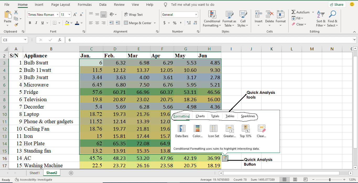 what is conditional formatting