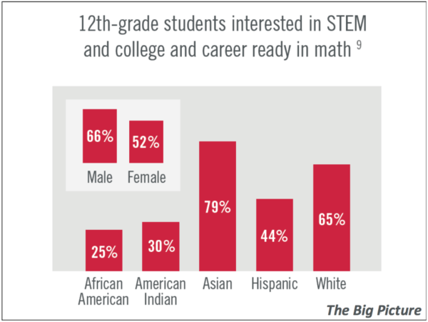 Minorities in Stem Statistics