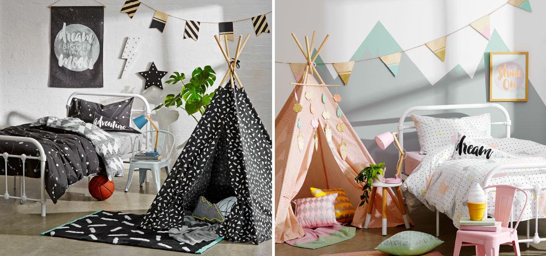 stylishkidsbedroommakeovers  Kmart