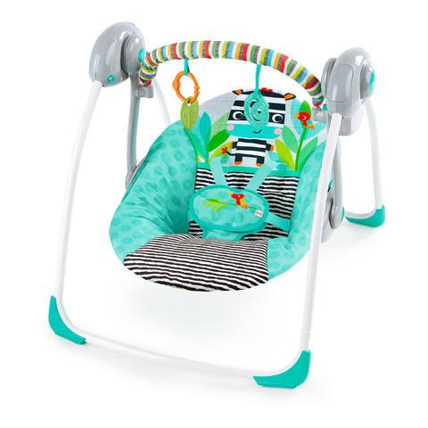 Bright Starts Zigzag Zebra Portable Swing  Kmart