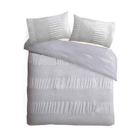 bonita comforter set queen bed silver