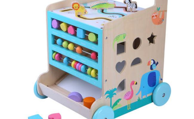 6 In 1 Activity Cube And Walker Kmart