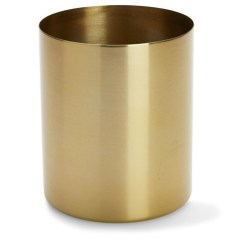 Kids Kitchen Appliances Remodel Price Brass Finish Metal Planter | Kmart