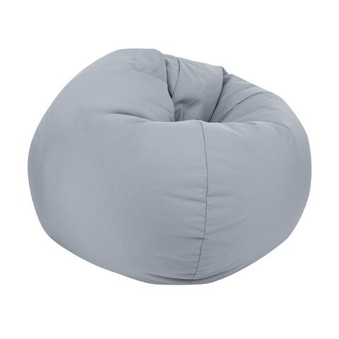 soft bean bag chair banquet covers on craigslist grey   kmart