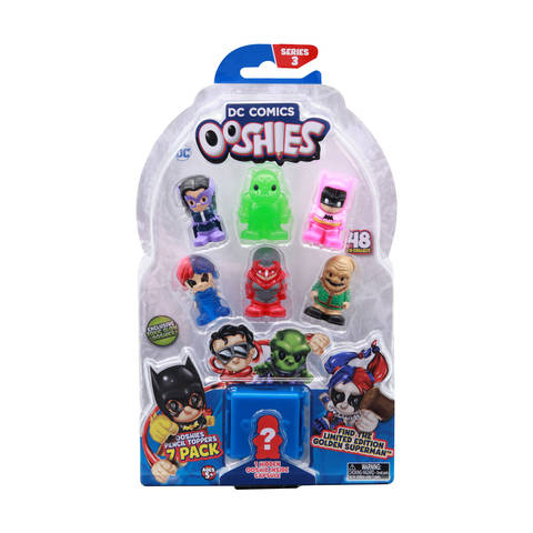 Ooshies DC Comics Series 3 Pencil Toppers  Assorted  Kmart