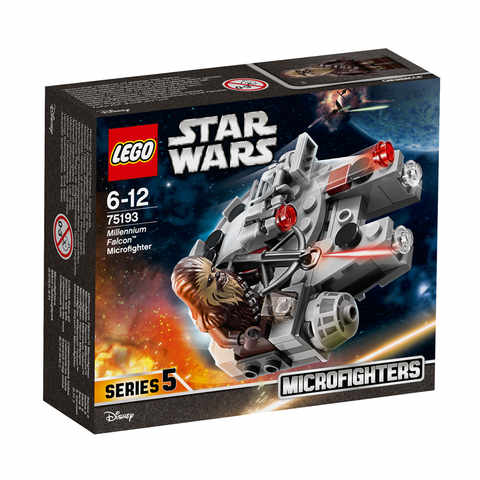 LEGO Star Wars Millennium Falcon Microfighter  75193  Kmart