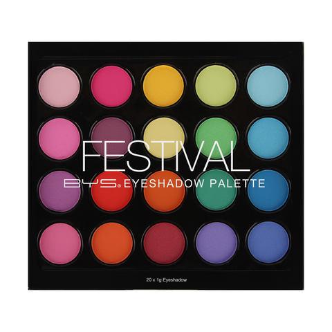 BYS Festival Eyeshadow Palette  1g Multicoloured  Kmart