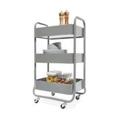 Kitchen Trolley Pans 3 Tier Kmart