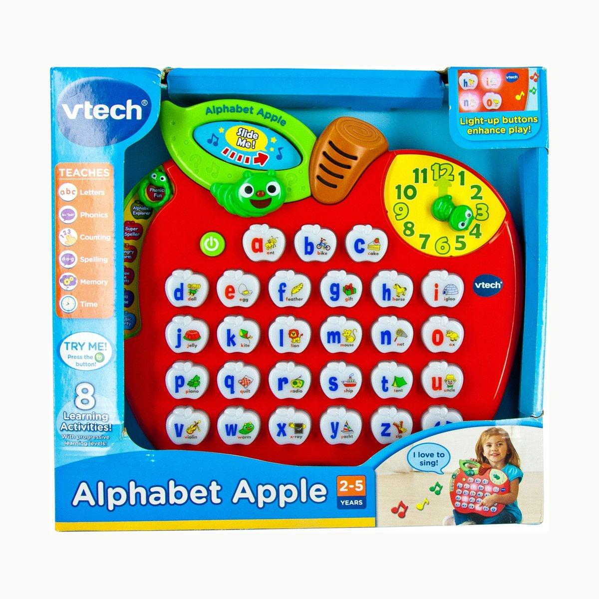 Alphabet Apple Toy