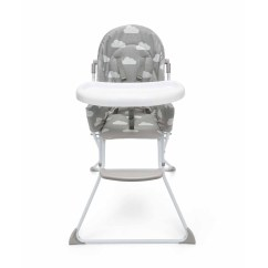 High Chair That Folds Flat Used Massage Chairs Bounty Fold Highchair Kmart