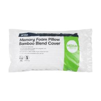 Memory Foam Pillow with Bamboo Blend Cover | Kmart