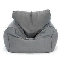 Extra Large Grey Bean Bag Chair