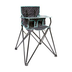 Portable Folding High Chair Most Comfortable Executive Office Camping Kmart
